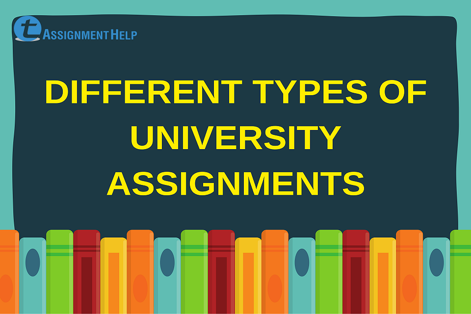 types of university assignment