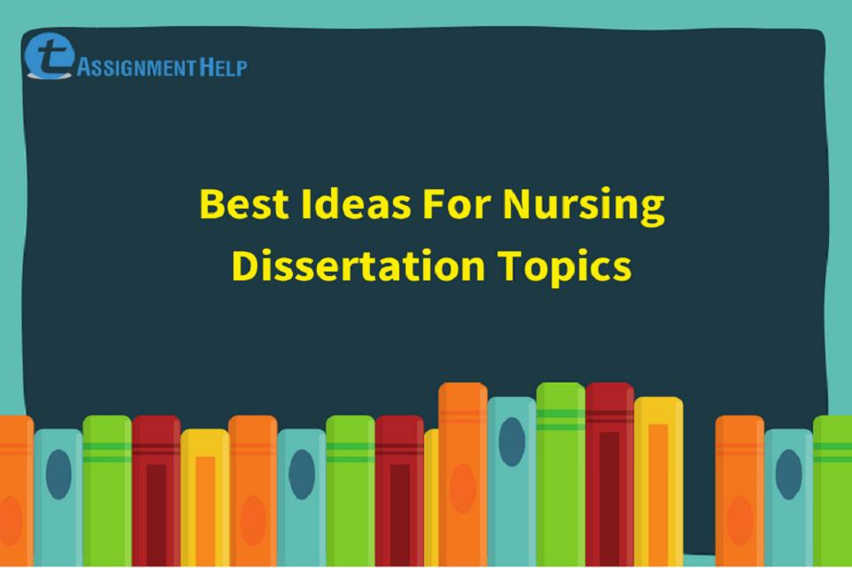 Dissertation topics in nursing how to write a cover page for a research paper