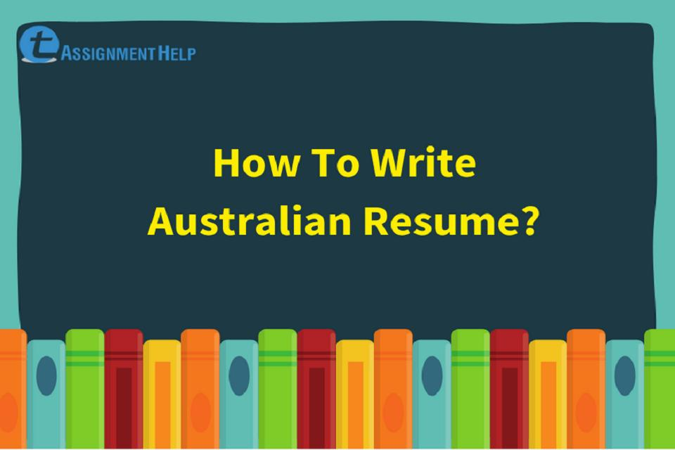 how to write australian resume