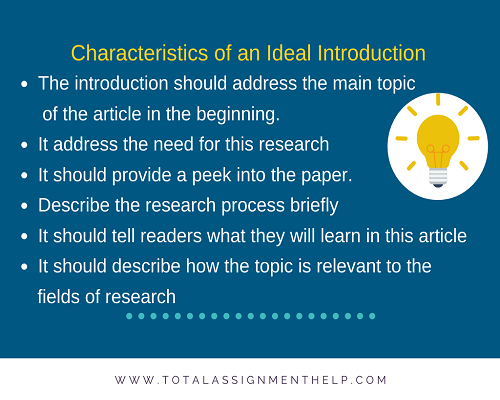 how to write an introduction to a research paper