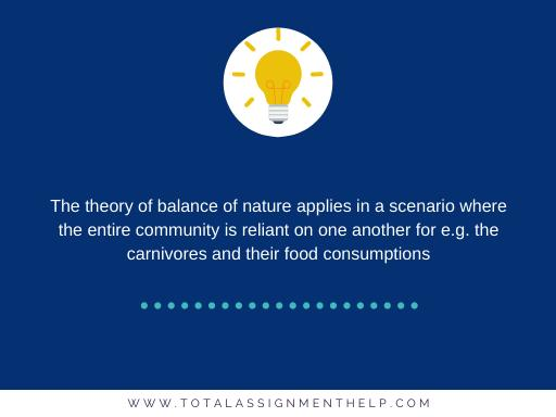 definition of the balance of nature