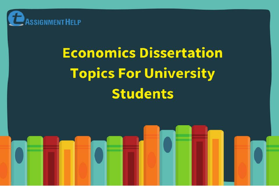Economics dissertation titles steps in research paper writing