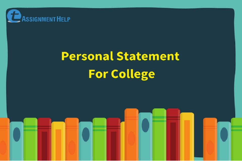 Personal Statement For College
