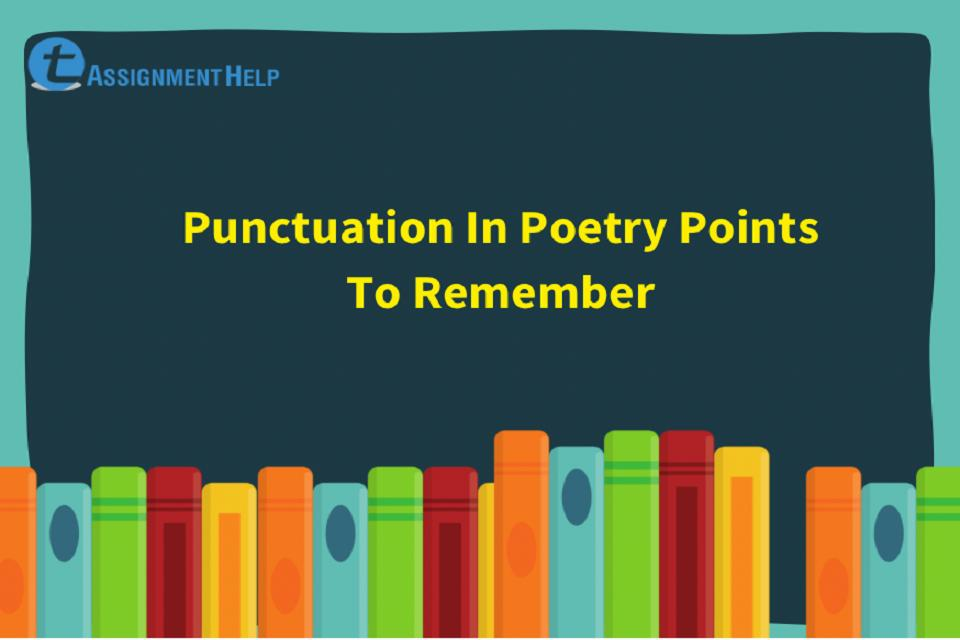 Punctuation In Poetry