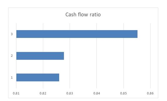 Cash flow ratio in financial analysis assignment
