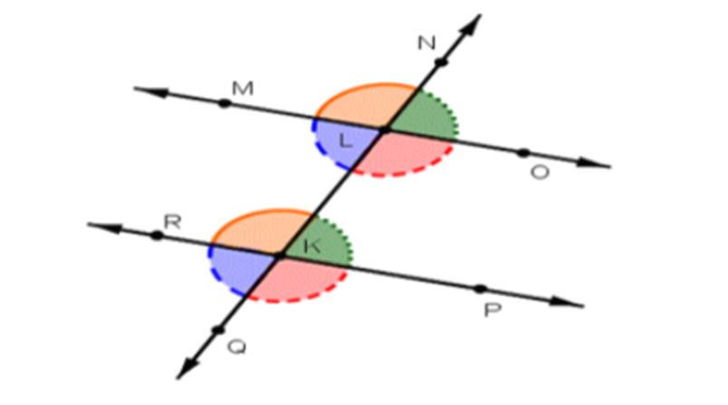 Corresponding angle in Geometry assignment help