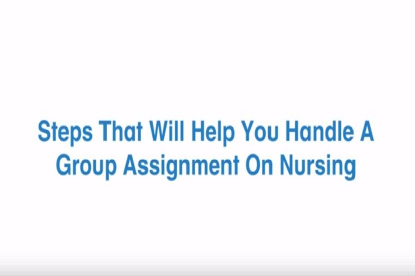 Group Nursing Assignment help