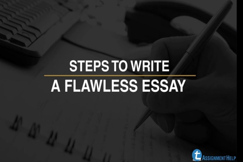 How to write a flawless essay