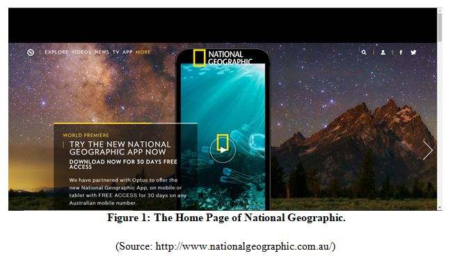 Responsive Web Design for National Geographic Home Page