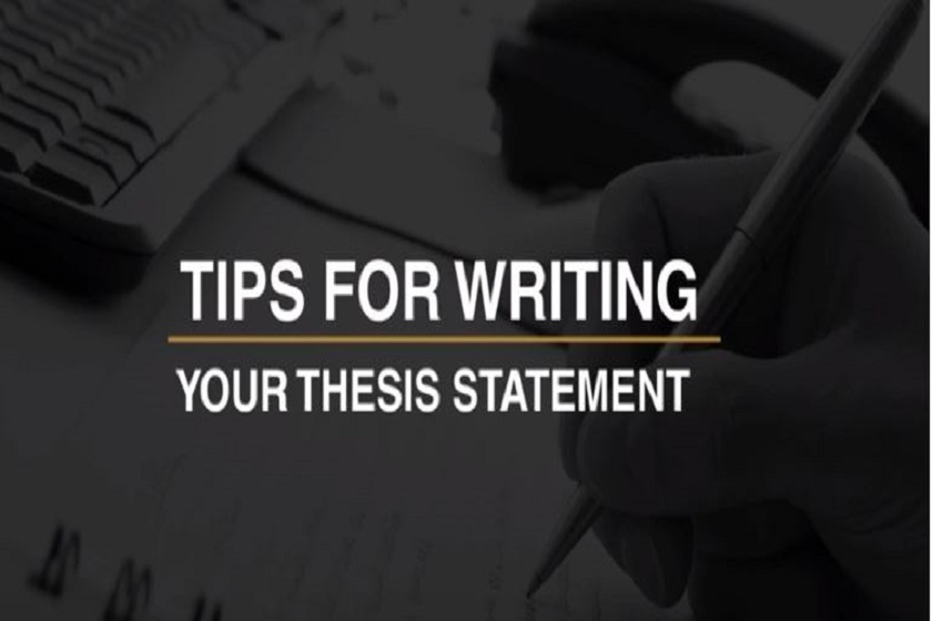 Tips for Writing Thesis Statement