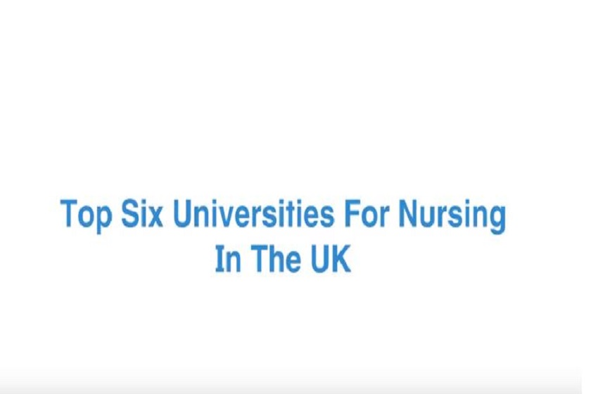 Six Universities For Nursing