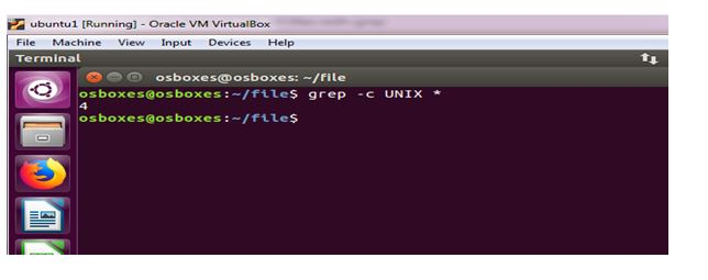 Unix operating system assignment