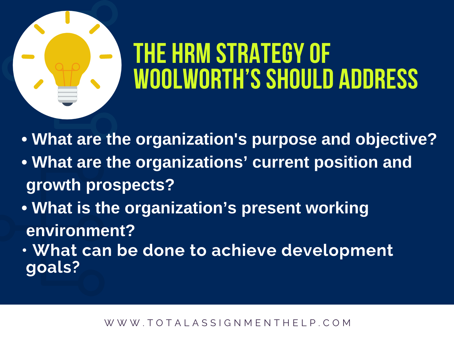 Woolworth's Human Resource Management