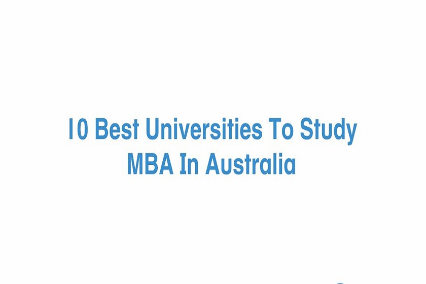 best mba universities in australia