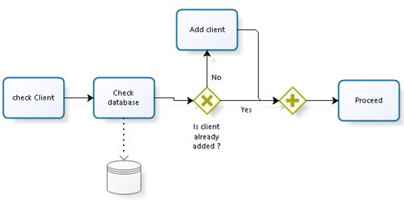 client information in BPM assignment