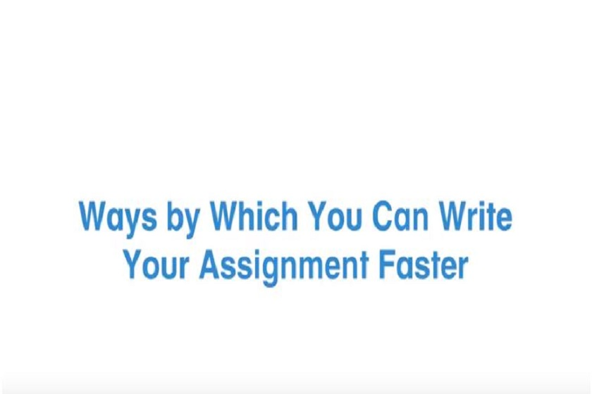Write Your Assignment