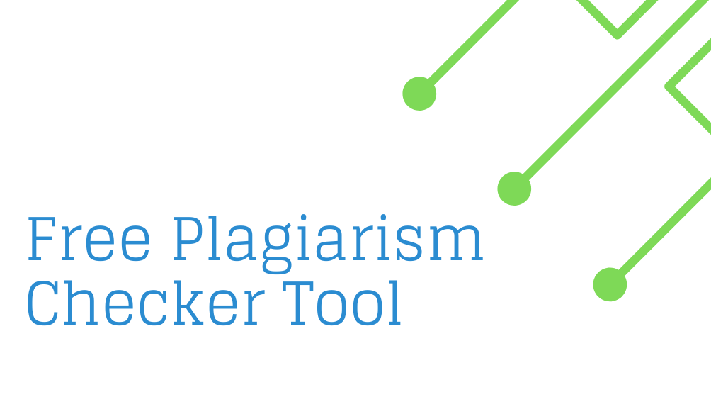 free plagiarism checker tool online