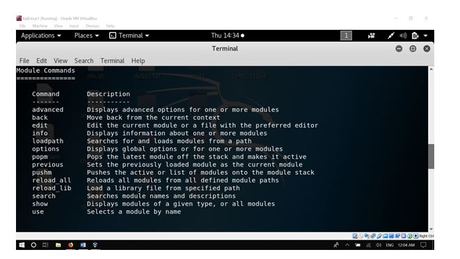 metasploit security testing tools