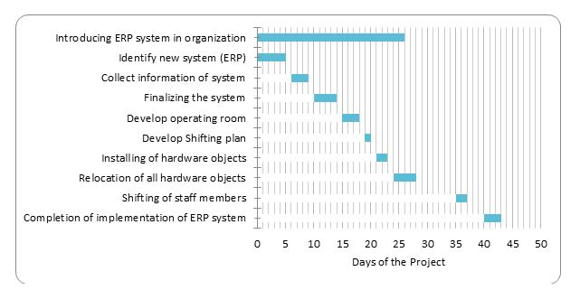 project management plan gantt chart