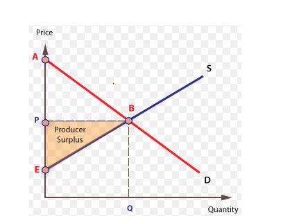 Producer surplus graph in economics case study
