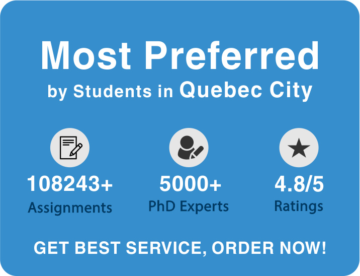 Quebec City assignment help