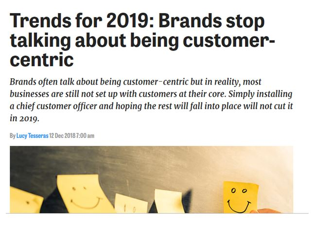 trends for 2019 in marketing management